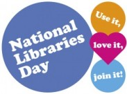 National Libraries Day UK logo