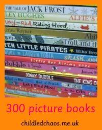300 Picture Books badge