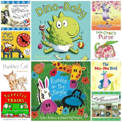 300 Picture Book Challenge Week 6 books