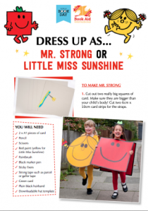 Mr Men dress up