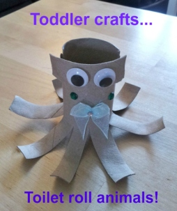 Mummy's to do list - toilet roll octopus