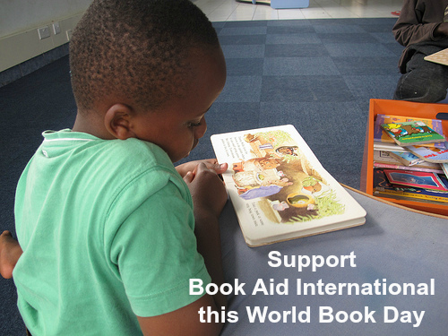 Support Book Aid International on World Book Day