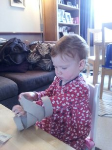 Mummy's to do list blog - kitchen roll snake