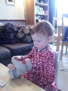 Mummy's to do list blog - kitchen roll snake