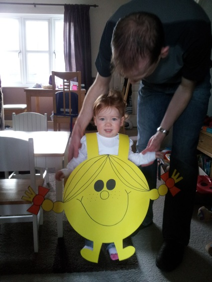 Little Miss on World Book Day 2014