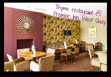 Our bargain toddler friendly mini break in southampton for Fish thyme menu