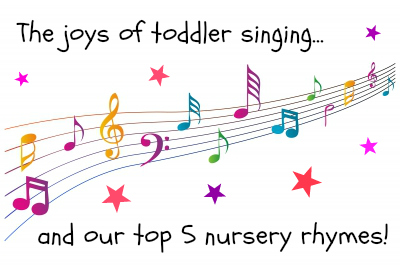 The joys of toddler singing