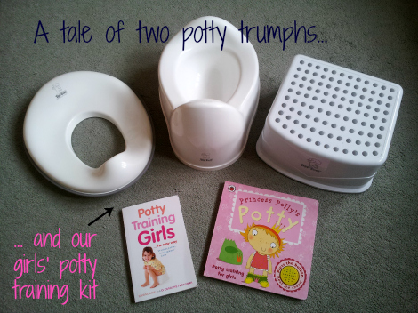 A tale of two potty triumphs