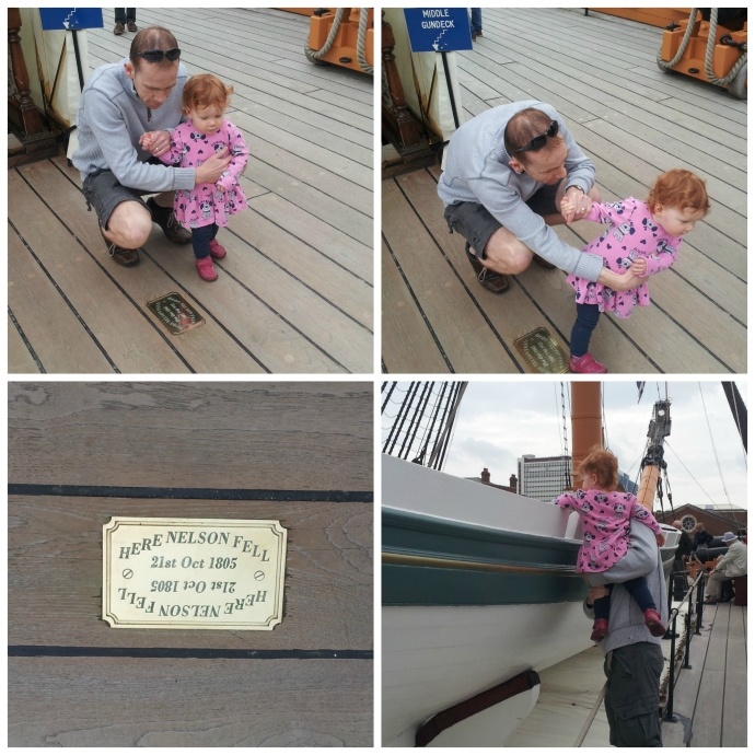 HMS Victory collage 2