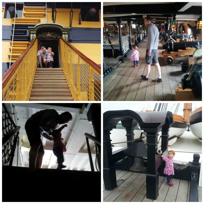 HMS Victory photo collage