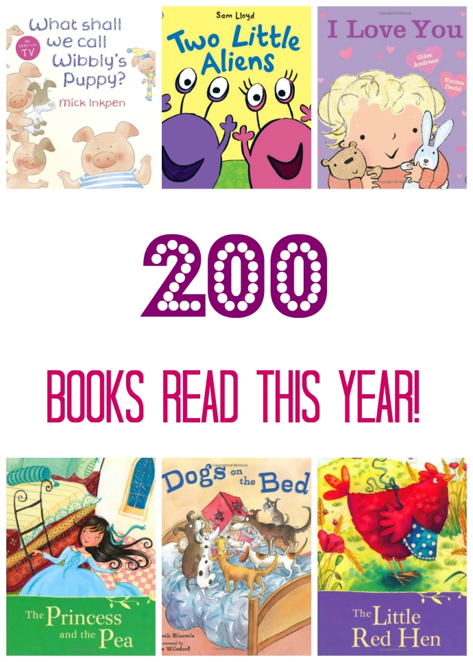 300 Picture Books  - 200 read
