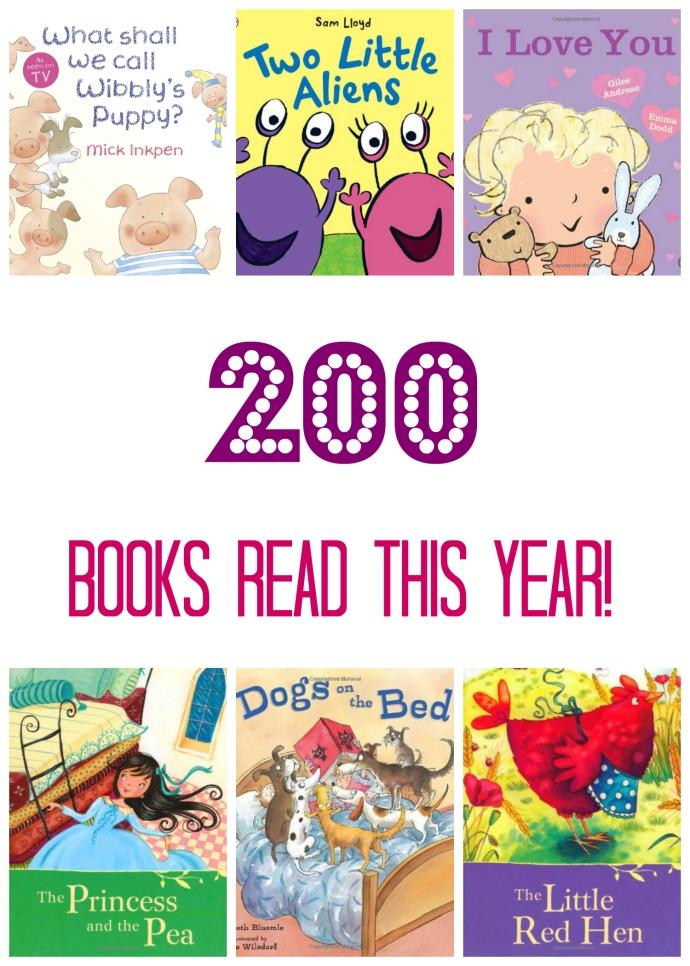 300 Picture Books  - 200 read
