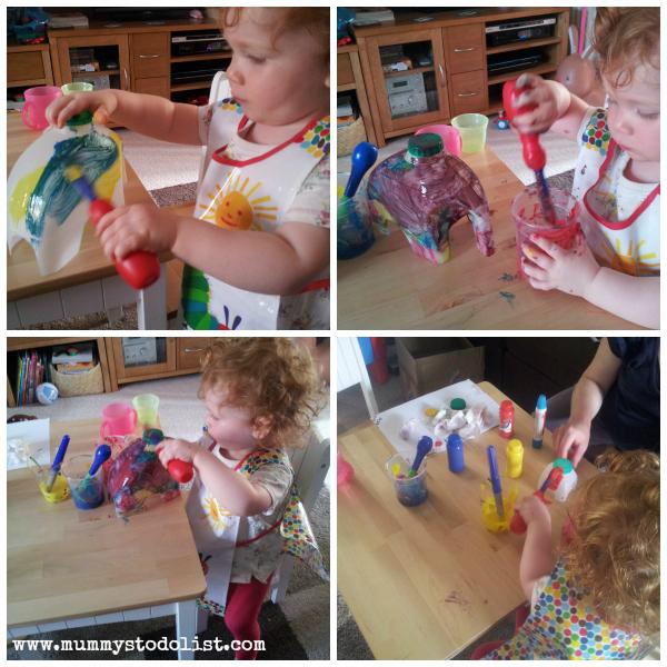 Elmer activity collage