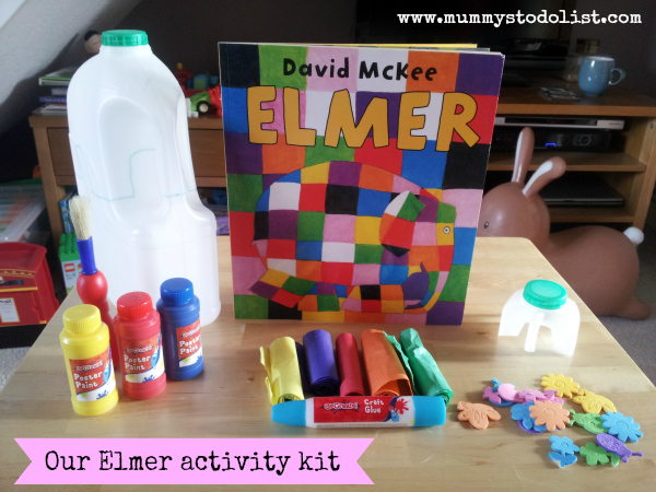 Elmer activity kit