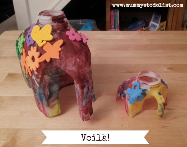 Finished elephants