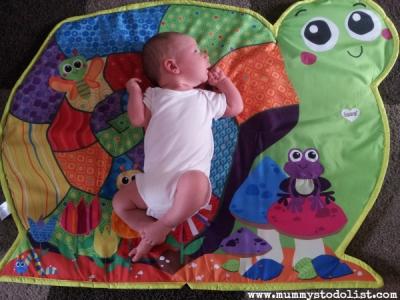 Little Mister 3 weeks old