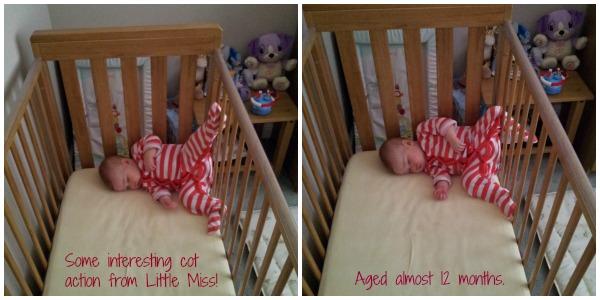 Little Miss cot action