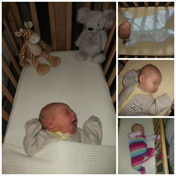 Little Miss in her crib