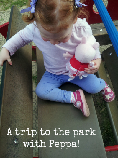Peppa at the park