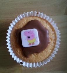 Finished Peppa Pig cake