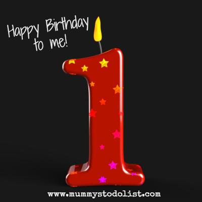 Blog birthday candle