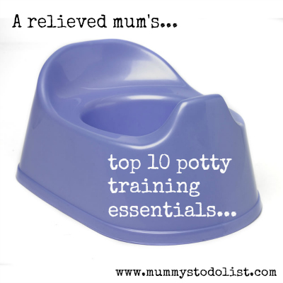 Top 10 potty training essentials