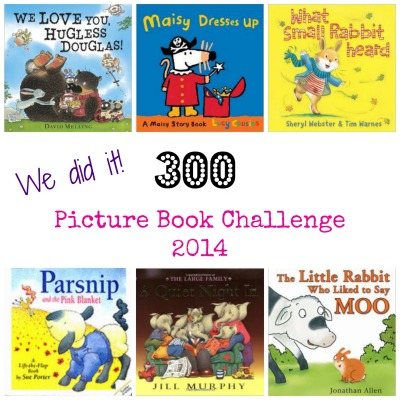 300 Picture Books Challenge we did it