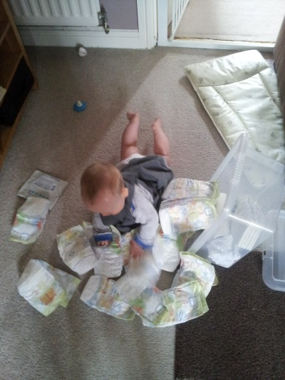 Nappies everywhere