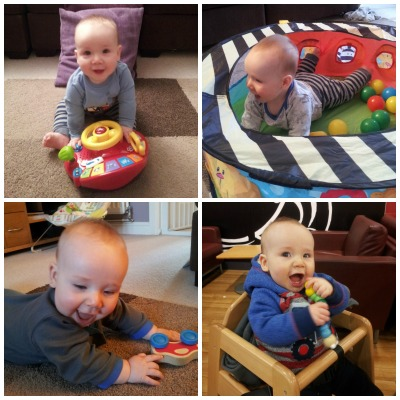 Seven months collage