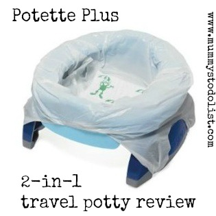 Potette Plus travel potty review