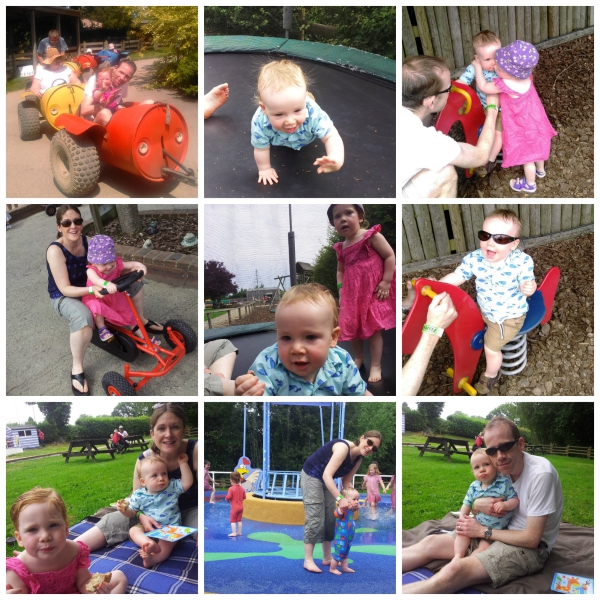 Fishers Farm birthday collage