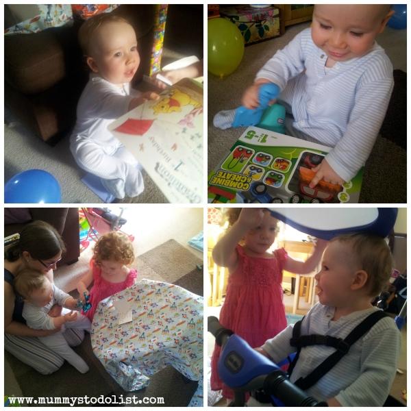 Little Mister Birthday Collage 1