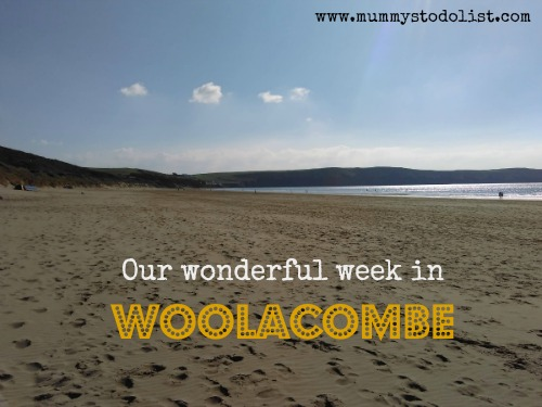 Our wonderful week in Woolacombe
