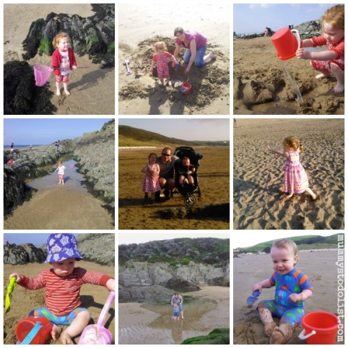 Woolacombe Beach Collage