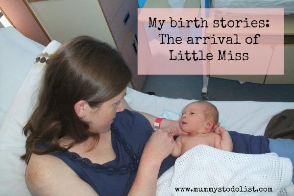 My birth stories 1